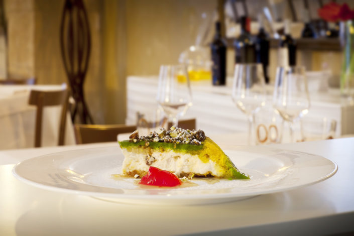 cassata siciliana del Ristorante Serisso di Trapani Servizio Fotografico Fotografia Food