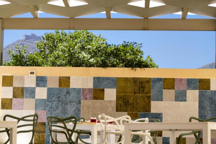 Fotografo per alberghi e strutture di lusso. In foto particolare vista da un hotel