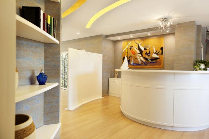 Fotografo per alberghi e strutture di lusso. In foto hall di un albergo