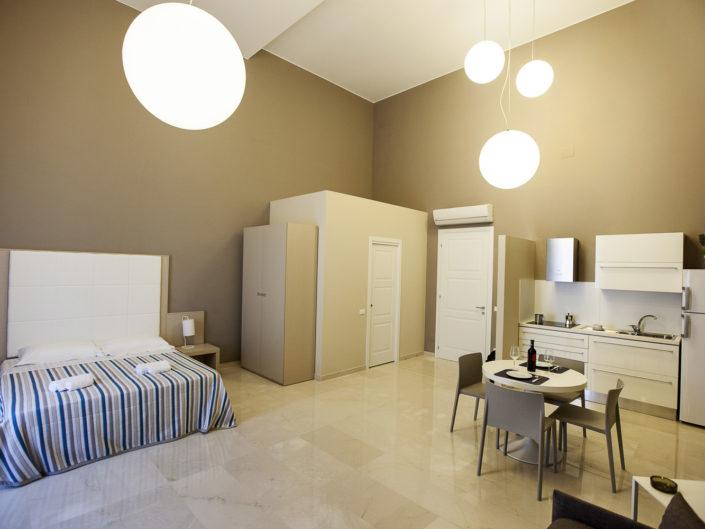 Fotografo per alberghi e strutture di lusso. In foto monolocale design per vacanze