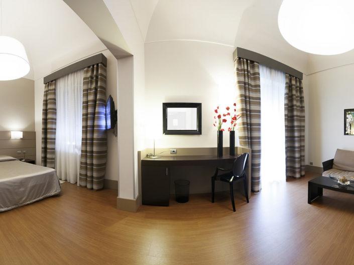 Fotografo per alberghi e strutture di lusso. In foto suite deluxe