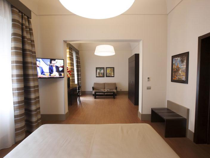 Fotografo per alberghi e strutture di lusso. In foto suite matrimoniale