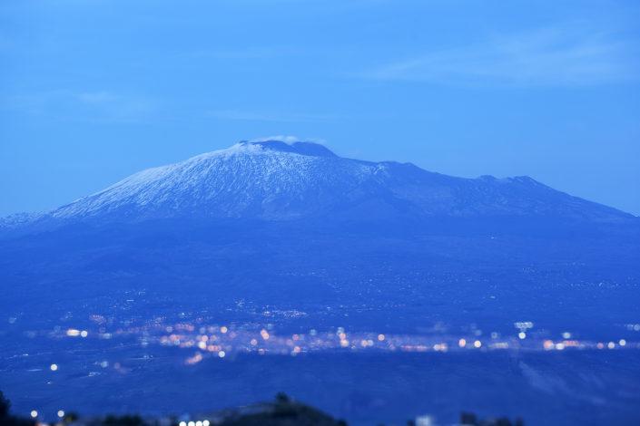 fotografia fine art per arredare stampata su tela Suggestiva fotografia dell'Etna