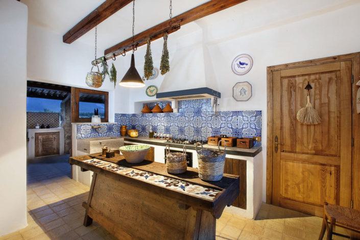 Fotografo per alberghi ha realizzato in una Cucina rustica di una dimora di charme in Sicilia
