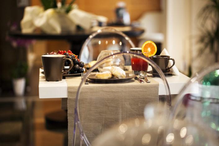 Momento della colazione in Albergo fotografato dal professionista Nino Lombardo