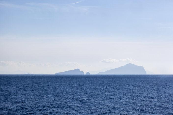 fotografia fine art per arredare stampata su tela Isole Eolie