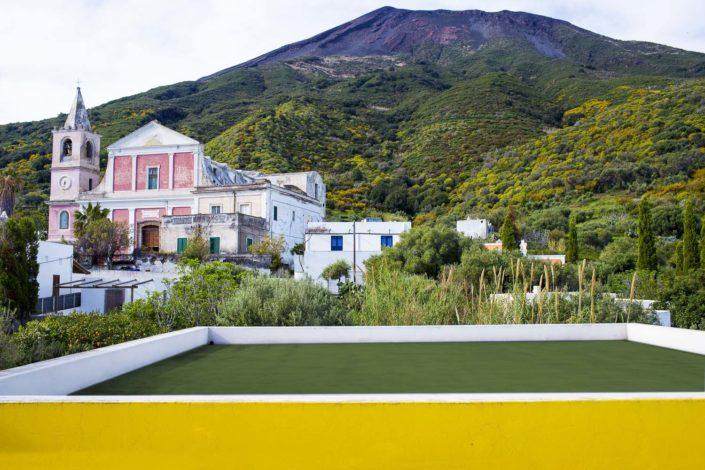 fotografia fine art per arredare stampata su tela Isole Eolie in Sicilia Stromboli