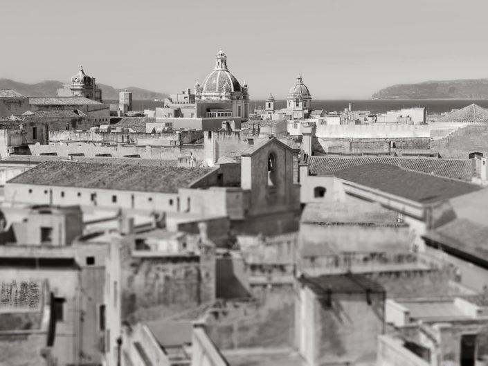 Foto bianco e nero per arredo moderno o classico stampata su tela o su pannello in vari formati