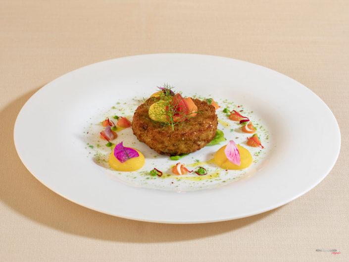 Hamburger-Di Pesce-Piatto-Fotografato-al Ristorante-Serisso47 Servizio Fotografico Fotografia Food