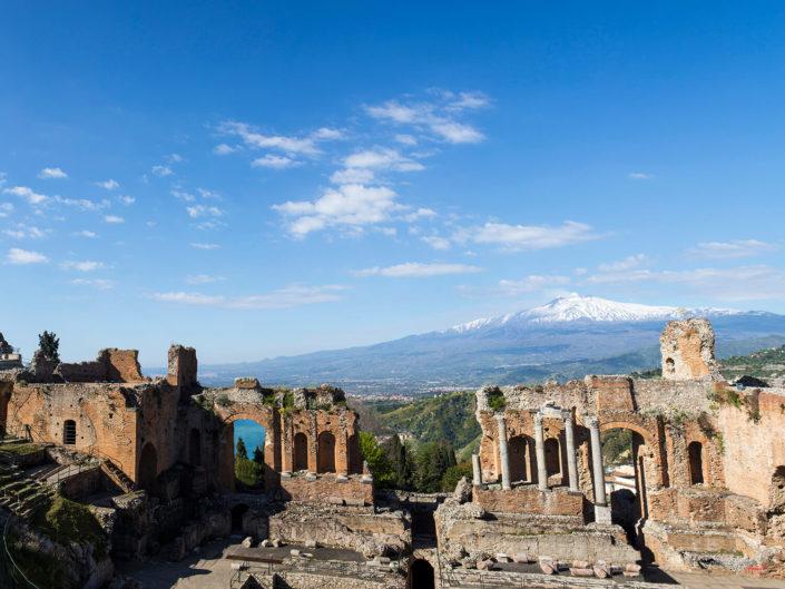 Teatro Greco di Taormina Fotografia Di Viaggio