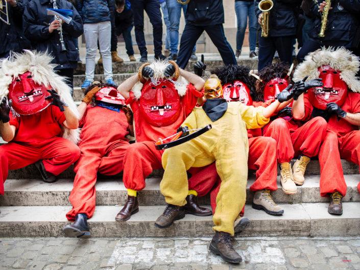Il ballo dei Diavoli in Sicilia a Prizzi durante la settimana di Pasqua
