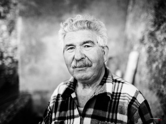 Fotografia di Viaggio in terra di Sicilia ritratto di uomo siciliano