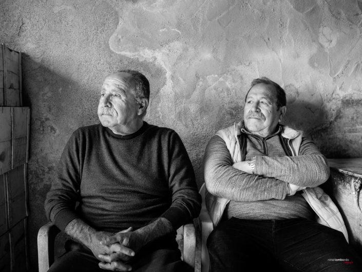 Gente di mare Pescatori Siciliani Fotografia di Viaggio