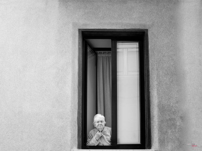 Donne anziane Siciliane Fotografia di Viaggio in Trapani Sicilia
