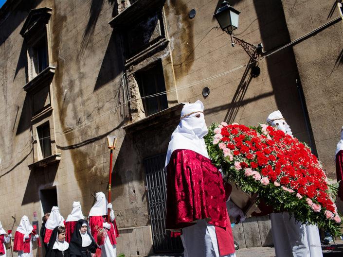 Settimana Santa Enna Durante il Periodo Pasquale, Foto di Viaggio