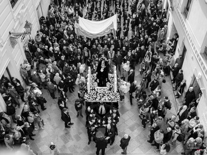 Sicilia Processione Pasquale durante la Settimana Santa a Trapani